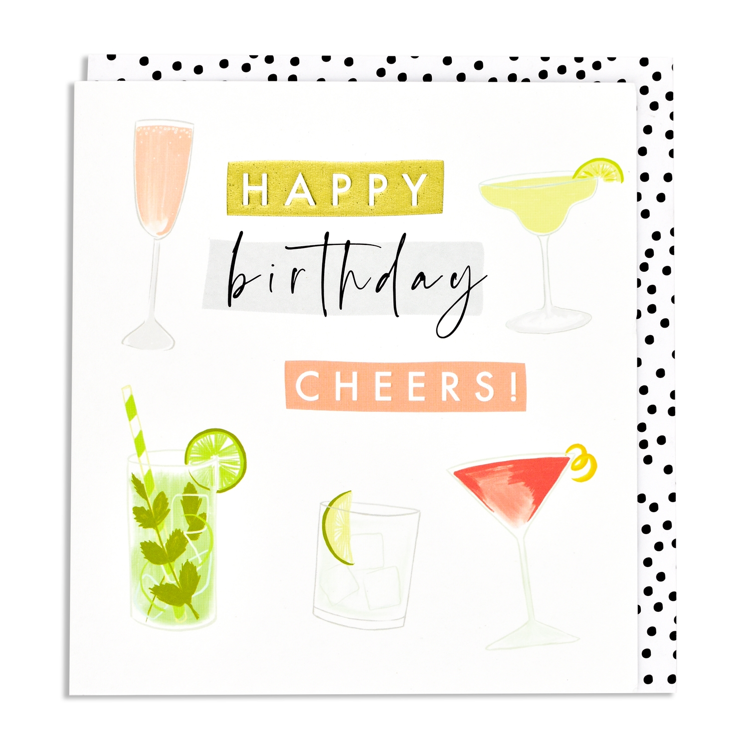 Cards Aur32 Happy Birthday Cocktails Think Of Me Designs